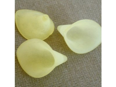 Sukýnky 19x21 mm, žlutá