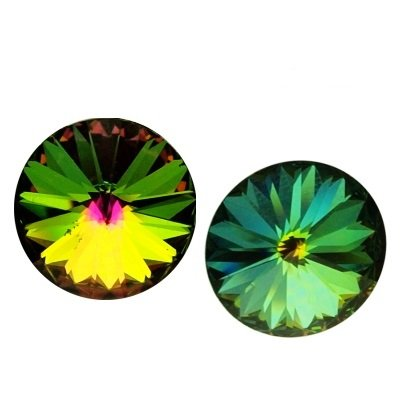 Rivoli 16 mm, Swarovski, crystal vitrail medium