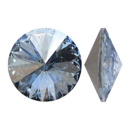 Rivoli 14 mm, Swarovski, crystal blue shade