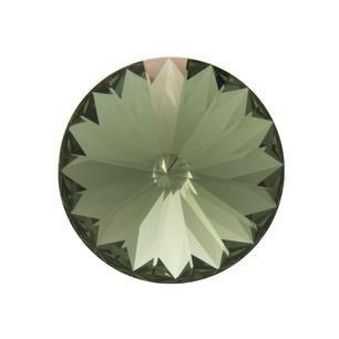Rivoli 12 mm, Swarovski, black diamond