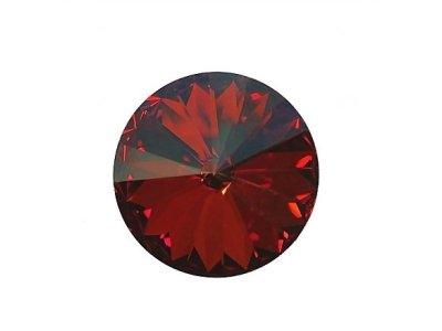 Rivoli 14 mm, Swarovski, red magma