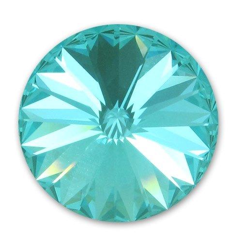 Rivoli 12 mm, Swarovski, light turquoise