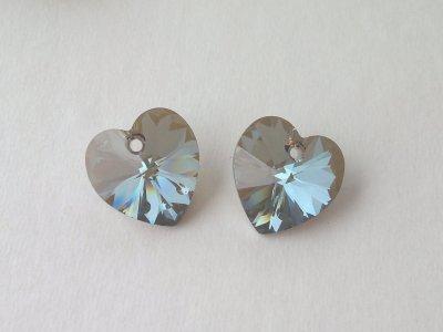 Přívěsek XILION srdce 14,4x14 mm, Swarovski, crystal bronze shade