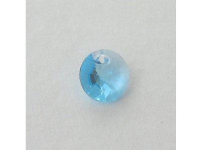 Přívěsek XILION 8 mm, Swarovski, aquamarine