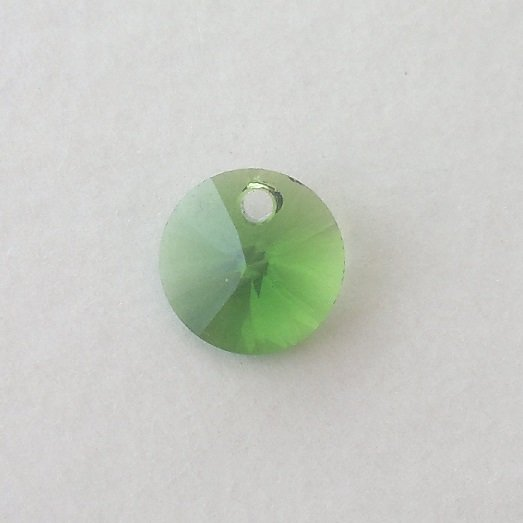 Přívěsek XILION 8 mm, Swarovski, fern green