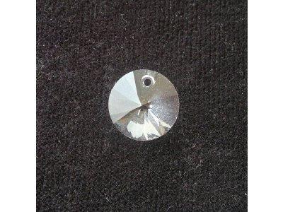 Přívěsek XILION 12 mm,Swarovski, crystal