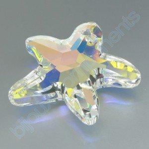 Přívěsek mořská hvězda Swarovski 28 mm, crystal AB