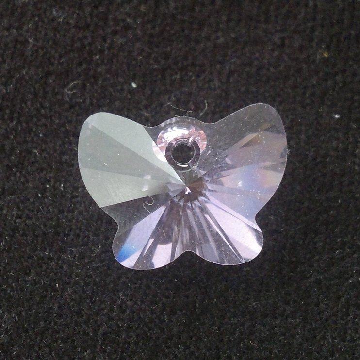 Přívěsek motýl Swarovski 18 mm, violet