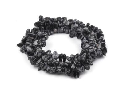 Obsidián vločkový, zlomky na váhu 1 mm