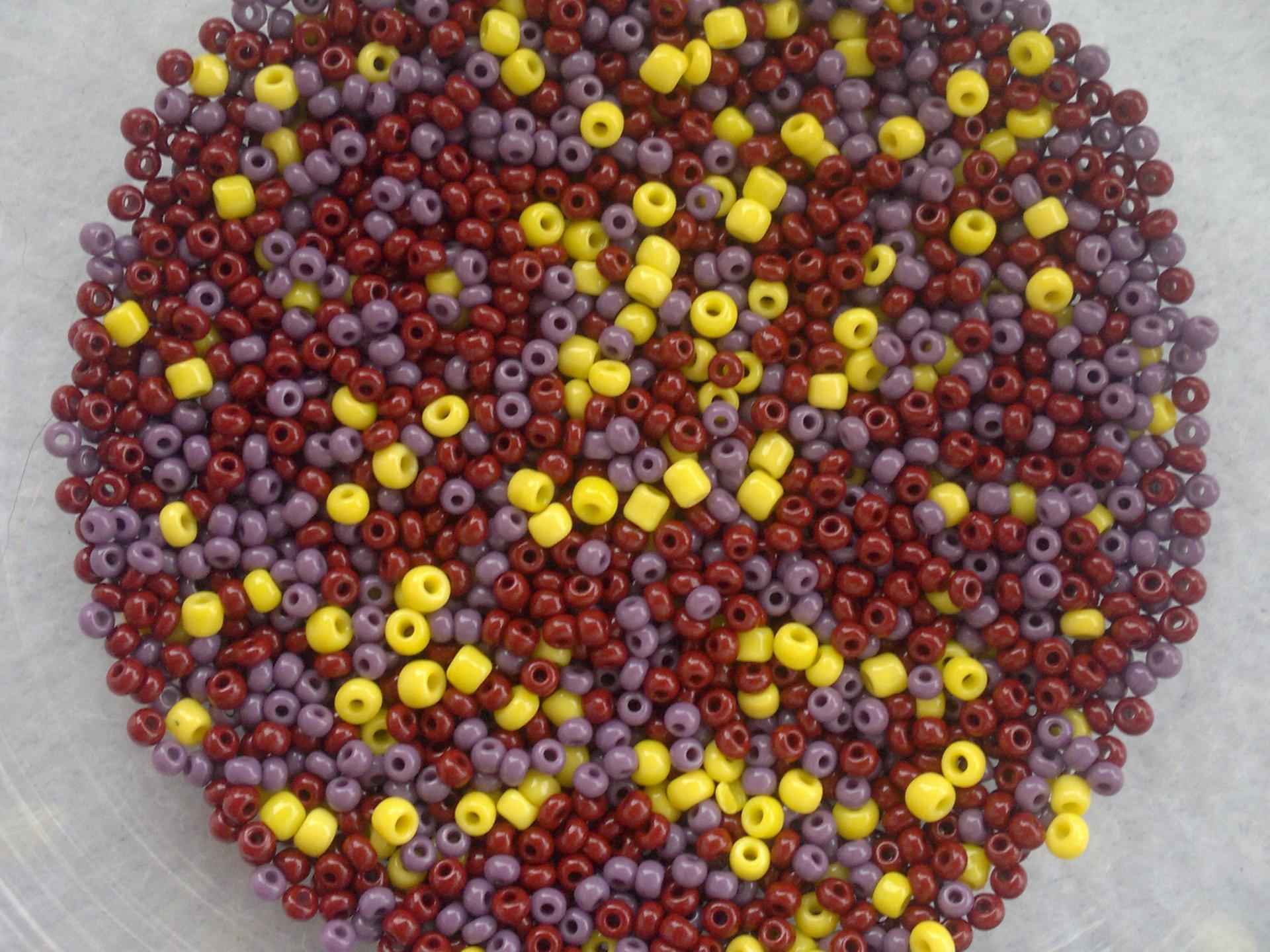 Rocailles PRECIOSA mix velikostí 9/0-11/0