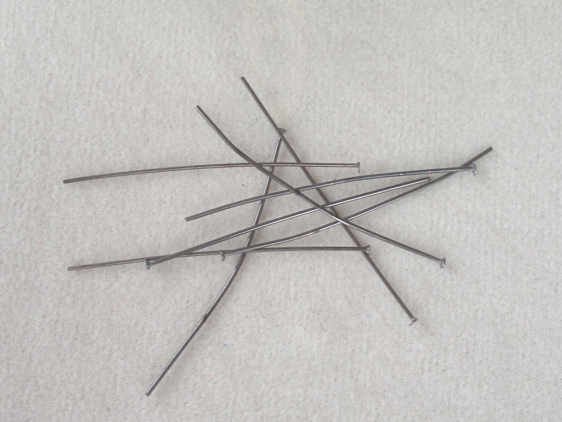 Ketlovací nýt 5 cm, antracitová