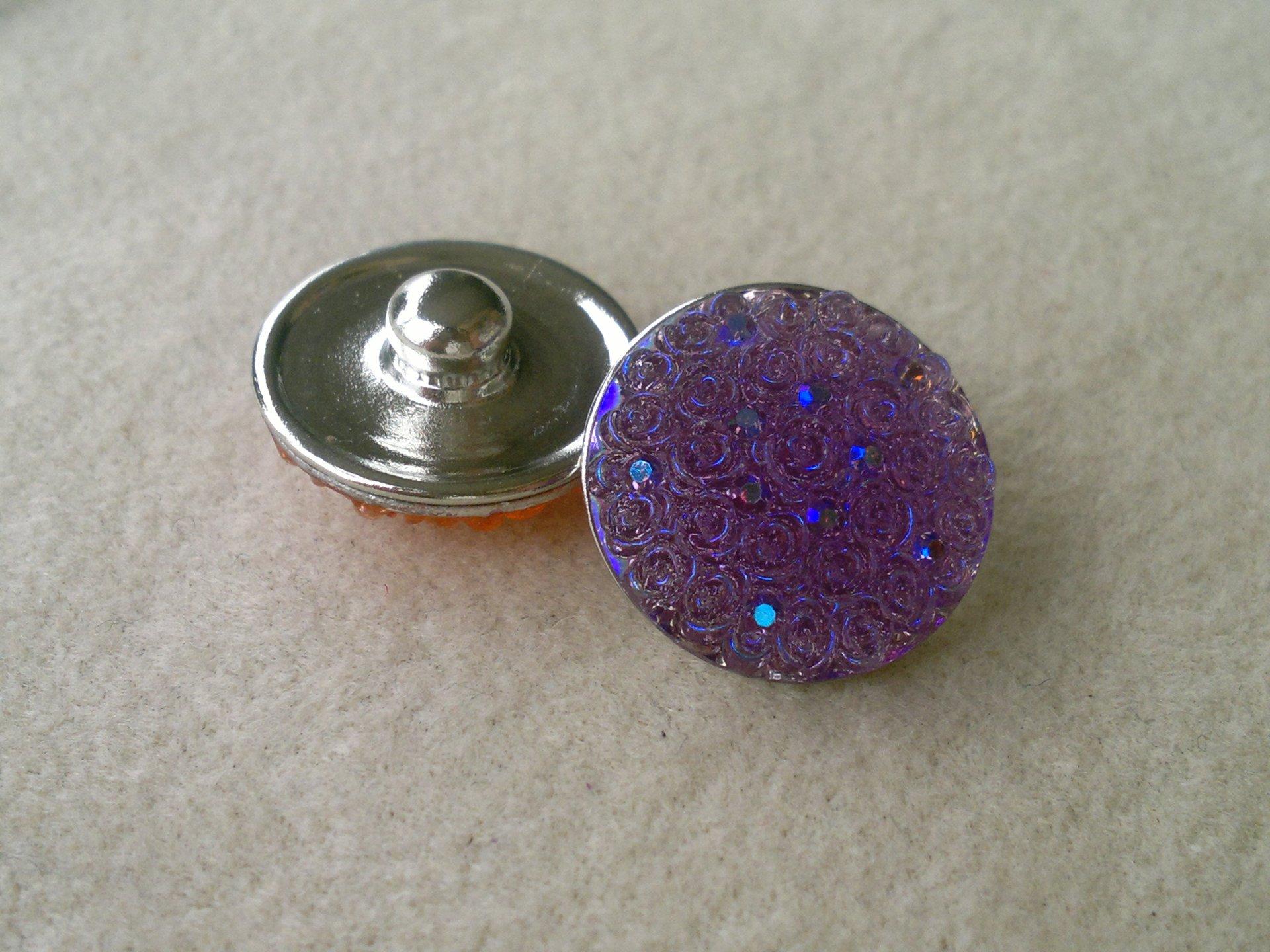 Kabocvok pryskyřičný, pr. 18 mm, fialový