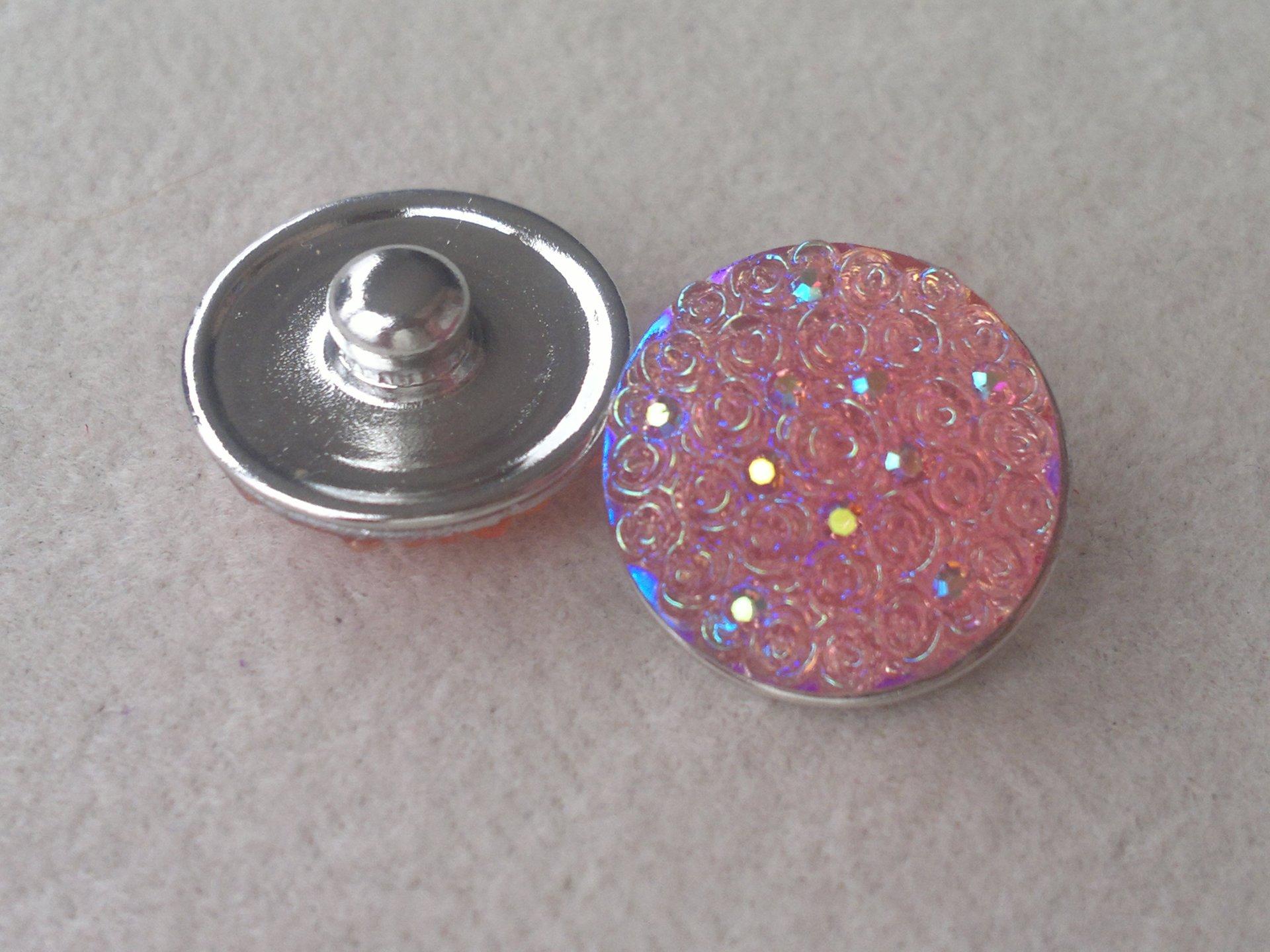 Kabocvok pryskyřičný, pr. 18 mm, růžový