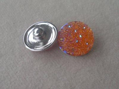 Kabocvok pryskyřičný, pr. 18 mm, oranžový
