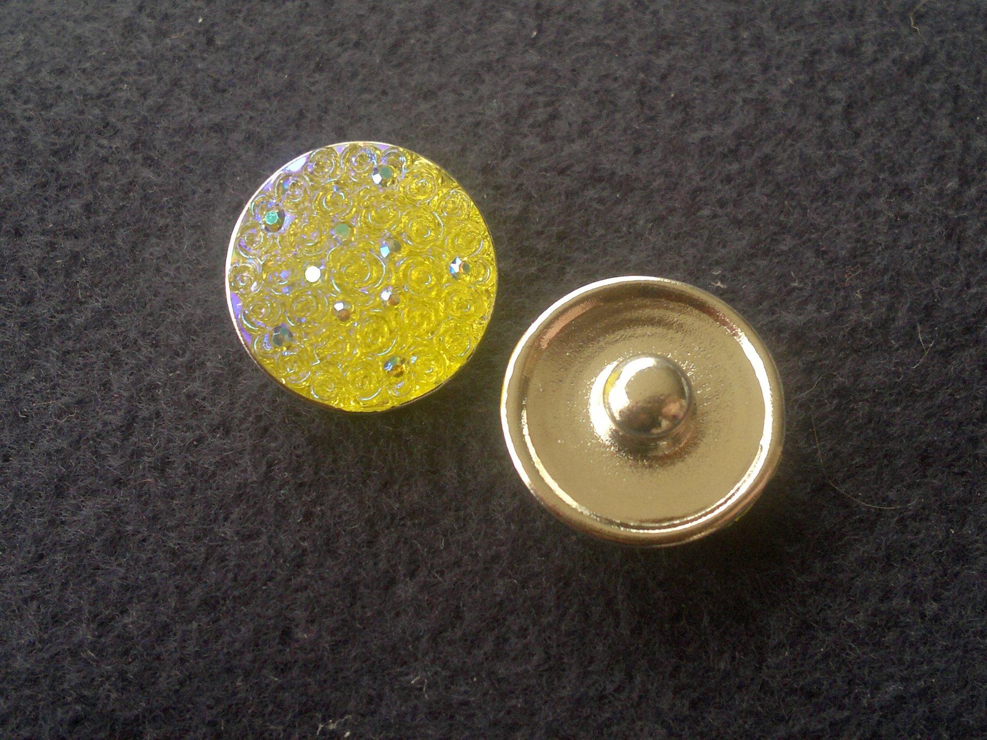 Kabocvok pryskyřičný, pr. 18 mm, žlutý