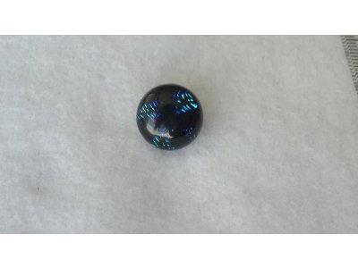Pecka 14 mm, dichroické sklo, typ 5 sklo 14 mm 5,5 - 6,5 mm
