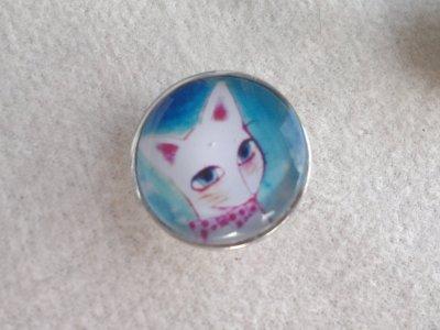 Kabocvok pr. 18 mm, kočka - motiv 34