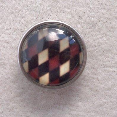 Kabocvok pr. 18 mm, kosočtverce - motiv 2