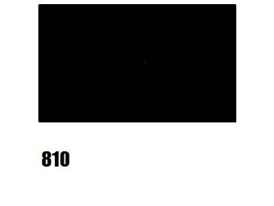 Barva na hedvábí, černá - 810