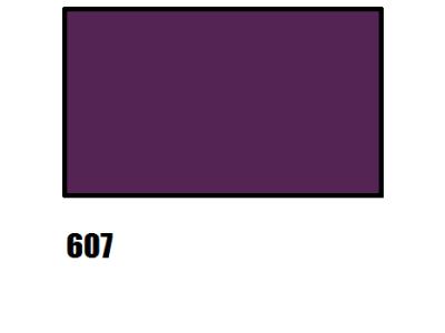 Barvy na hedvábí, fialová, 607