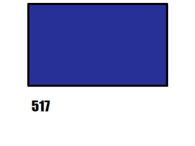 Barva na hedvábí, tmavě modrá - 517