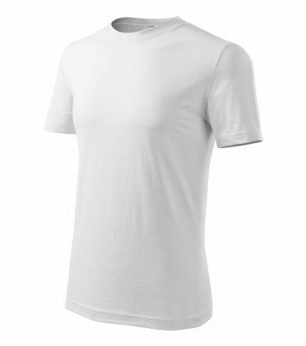 Pánské tričko klasické - bílé M