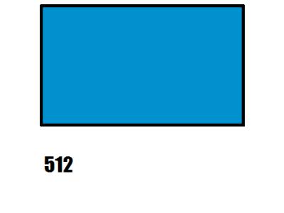 Barva na hedvábí, nebesky modrá, 512 modrá