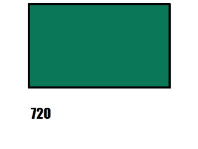 Barva na hedvábí, smaragdově zelená, 720