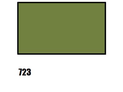 Barva na hedvábí, khaki - 723 khaki