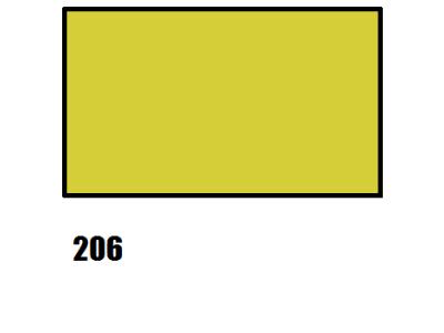 Barva na hedvábí, okrová - 206 okrová