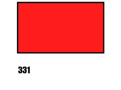 Barva na hedvábí, červená - 331 červená