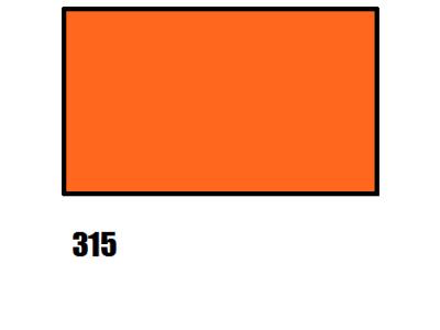 Barva na hedvábí, oranžová, 315 oranžová