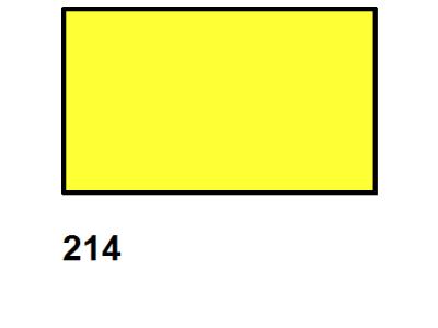 Barva textilní DECOLA - žlutá neonová