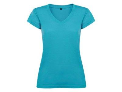 Tričko Victoria, dámské - tyrkysová tyrkysová 100% bavlna XXL