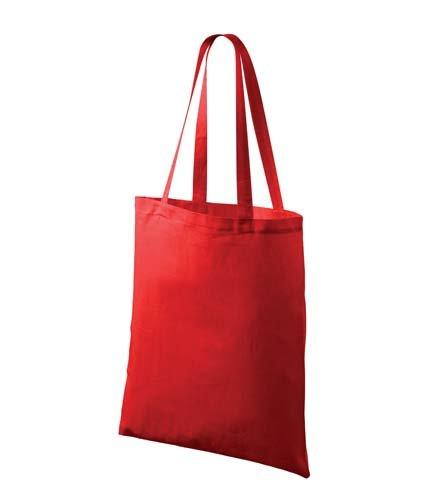 Taška plátěná 38x42cm - červená červená 100% bavlna