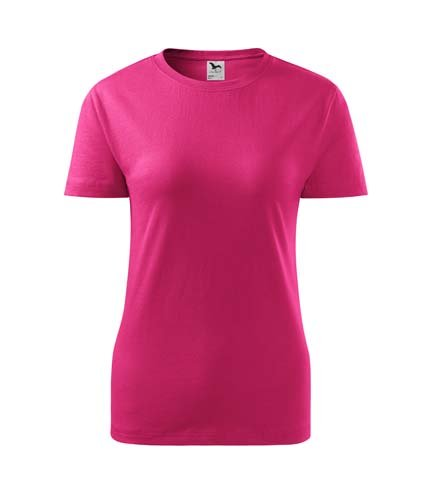 Tričko klasické dámské - purpurové XL