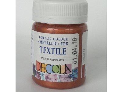Barva textilní DECOLA - měděná