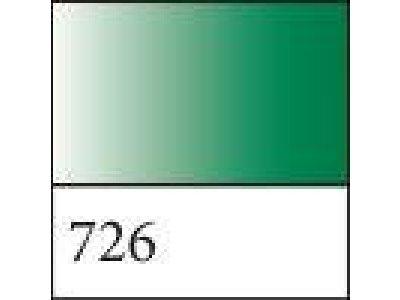 Kontura textil./hedvábí - glitry zelené 726 glitry zelené