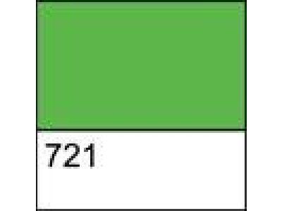 Kontura textil./hedvábí - perleť zelená 721 zelená