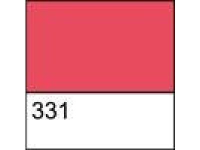 Kontura textil./hedvábí - červená 331 červená
