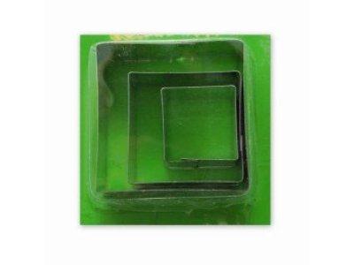 Vykrajovátka - čtverce kov