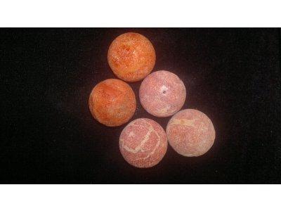 Houbový korál - pr. 20 mm korál 20 mm kulička červená 1,1 mm