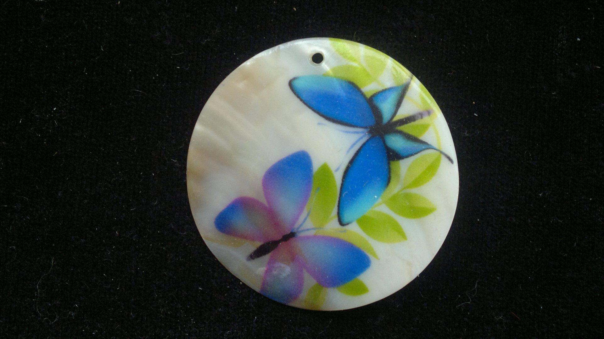 Silná perleť 50 mm - motiv 8 perleť 50 mm 1,2 mm bílá/modrá/zelená/černá/fialová