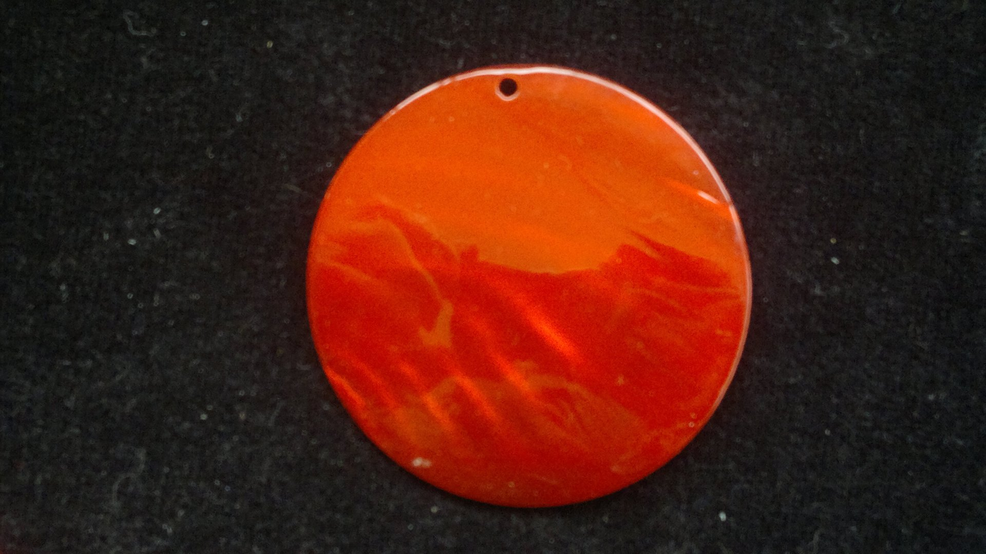 Silná perleť 50 mm - motiv 9 červená 50 mm 1,5 mm perleť