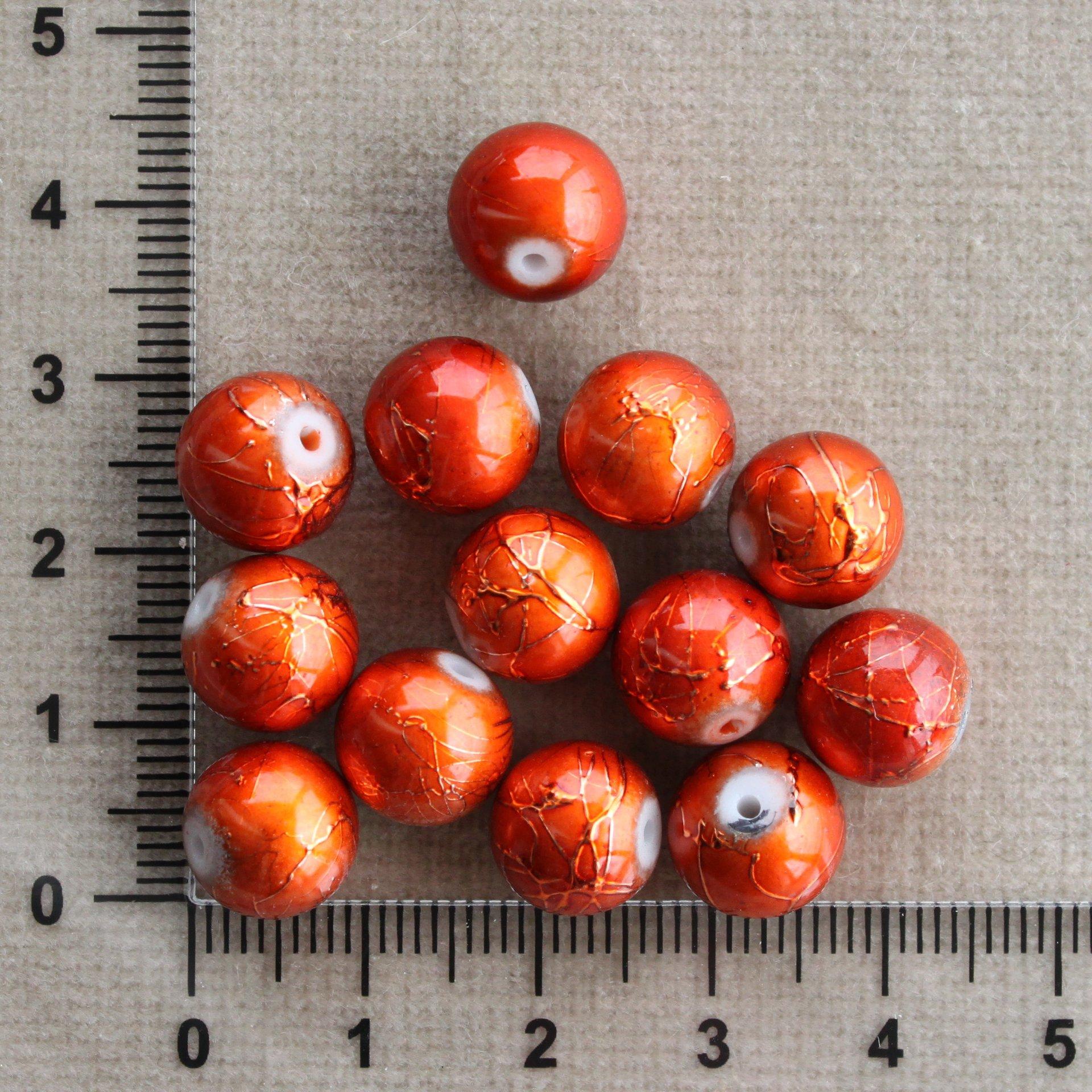 Oranžové s políváním 10;12 mm 10 mm 1,2 mm