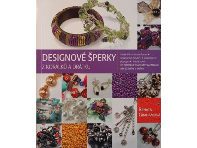 Designová šperky z korálků a drátků Renata Grahamová