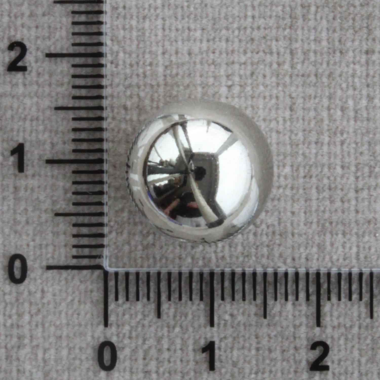 Kuličky stříbrné lesklé 8 a 16 mm