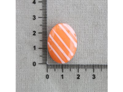 Ovál pruhy, plastové ovál plast 1,7 mm