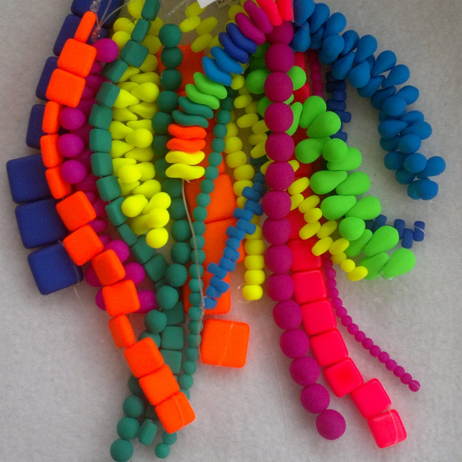 Neonové korálky