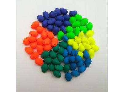 Neon KAPKY 3x11 mm, více barev
